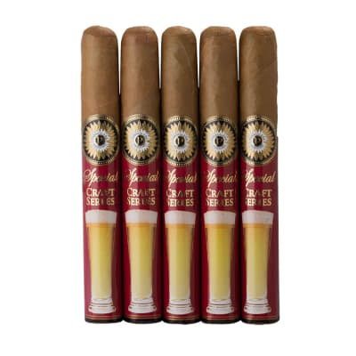 Perdomo Craft Series Pilsner Epicure Connecticut 5 Pack-CI-PPI-EPIN5PK - 400