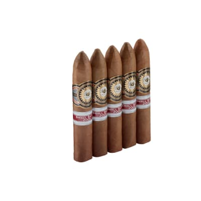 Perdomo Small Batch Connecticut Belicoso 5 Pack-CI-PS1-BELN5PK - 400