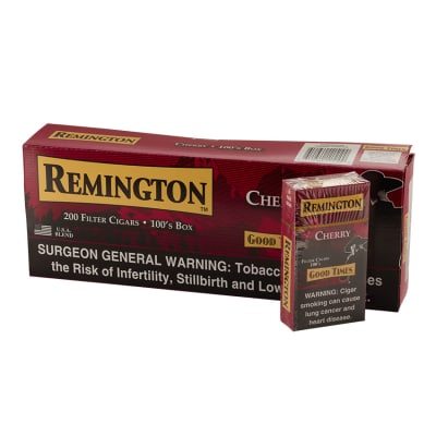 Remington Filter Cigars Cherry 10/20-CI-REM-CHERRY - 400