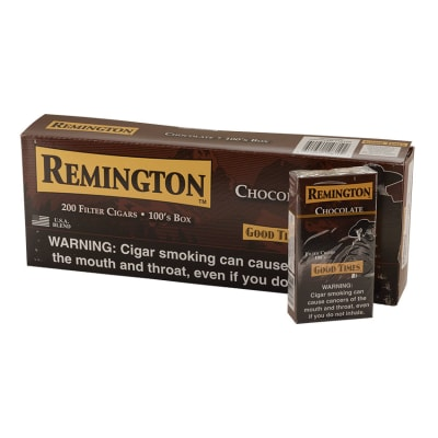 Remington Filter Cigars Chocolate 10/20 - CI-REM-CHOC