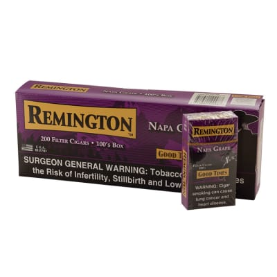 Remington Filter Cigars Grape 10/20 - CI-REM-GRAPE