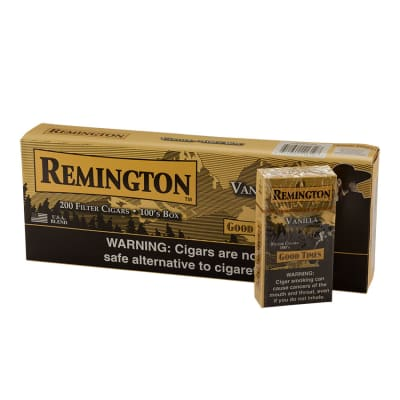 Remington Filter Cigars Vanilla 10/20-CI-REM-VANILLA - 400