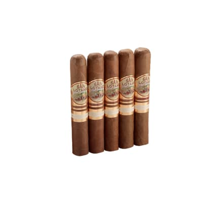 San Lotano Requiem Connecticut Robusto 5 Pack-CI-SLT-ROBN5PK - 400