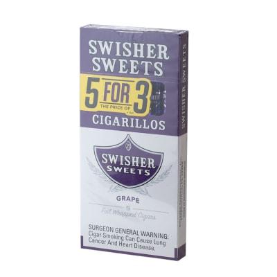 Swisher Sweets Cigarillos 5 for 3 Grape (5)-CI-SWI-53GRAPZ - 400