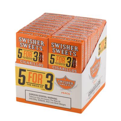 Swisher Sweets Cigarillos 5 for 3 Peach 20/5-CI-SWI-53PEAC - 400