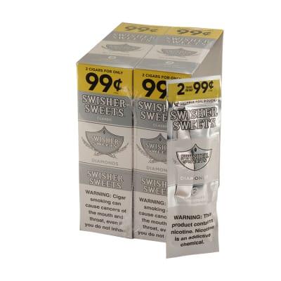 Swisher Sweets Diamonds Cigarillos 30/2 - CI-SWI-DIA99