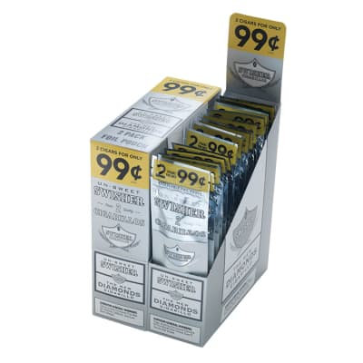 Swisher Sweets Diamonds Cigarillos 30/2-CI-SWI-DIA99 - 400