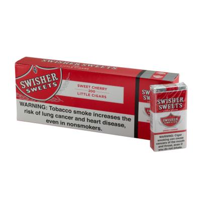 Swisher Sweets Little Cigar Cherry 10/20-CI-SWI-LCCHEPK - 400