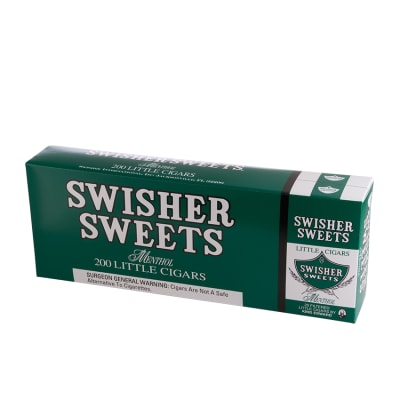 Swisher Sweets Little Cigars Menthol 10/20-CI-SWI-LCMENPK - 400