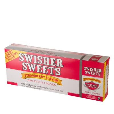 Swisher Sweets Little Cigar Strawberry 10/20 - CI-SWI-LCSTWPK