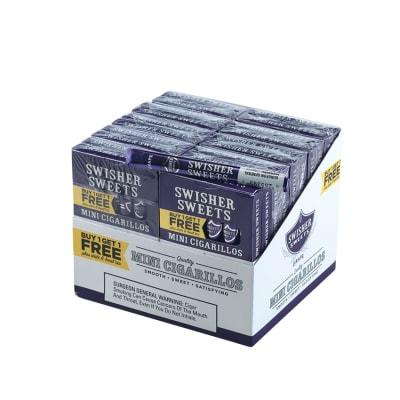 Swisher Sweets Mini Cigarillos B1G1 Grape 10/12-CI-SWI-MGB1G1 - 400