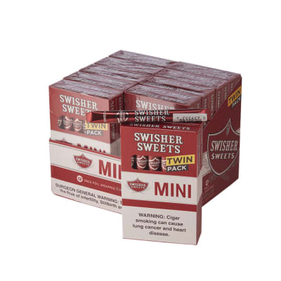 Swisher Sweets Mini Cigarillos B1G1 10/12 - CI-SWI-MSB1G1
