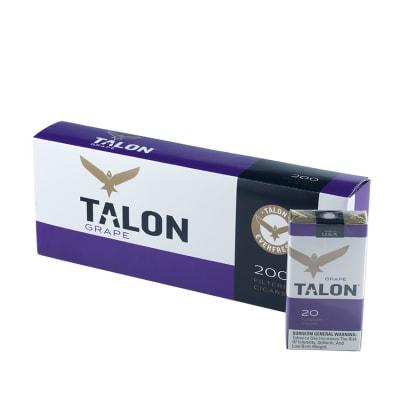 Talon Filtered Cigars Grape 10/20 - CI-TFC-GRAPE