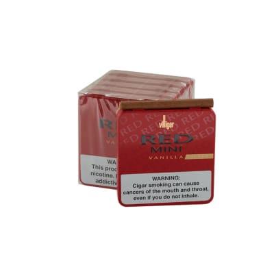 Villiger Red Mini Vanilla Filter 5/20-CI-VLG-MINFRED - 400