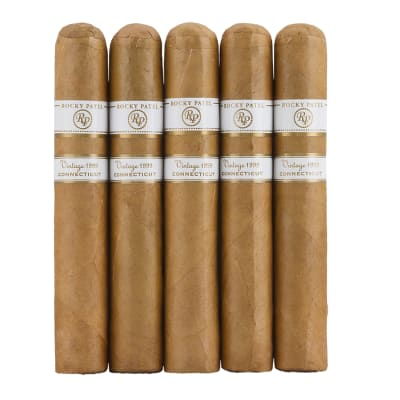 Rocky Patel Vintage Connecticut 1999 Six By Sixty 5 Pack - CI-VRC-60N5PK