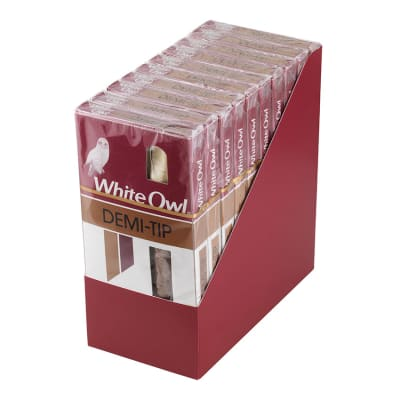 White Owl Demi Tips 10/5-CI-WHI-DEMNPK - 400