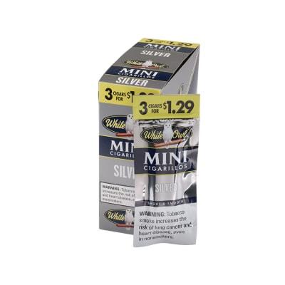 White Owl Mini Cigarillo Silver 15/3-CI-WMI-SILV - 400