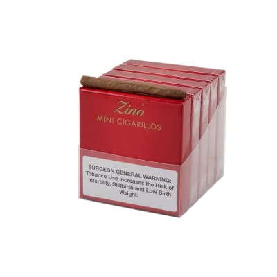 Zino Red Mini Cigarillos 10/20 - CI-ZIN-RMINI