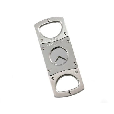 Elie Bleu Cigar Cutter Collection Polished/Satin Stainless - CU-EBS-EBC1003