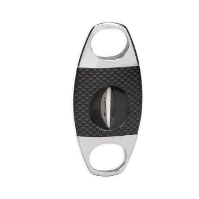 Lotus Jaws Carbon Fiber Serrated V Cutter Black/Chrome-CU-LTS-JAWCBLK - 400