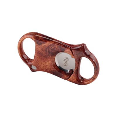 Palio Cigar Cutter Burl Wood - CU-PLO-WOOD