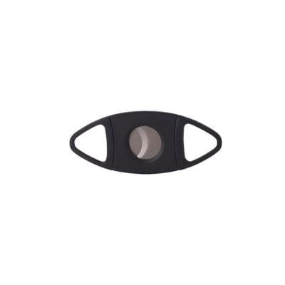 Double Blade Cigar Cutter Black - CU-QIT-CC175