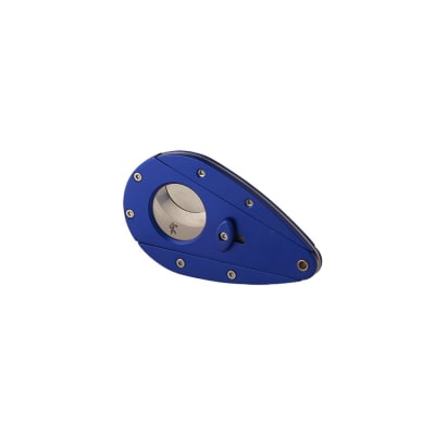 Xikar Xi1 Aluminum Blue Cigar Cutter - CU-XCU-XI1BLU