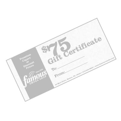 $75.00 Gift Certificate - GC-FGC-0075