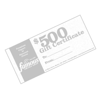 $500.00 Gift Certificate - GC-FGC-0500