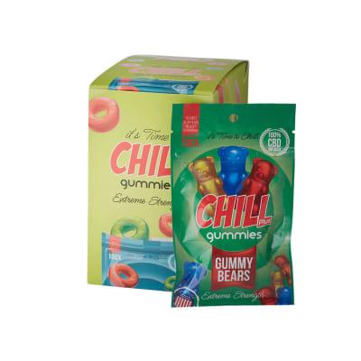 Chill Plus CBD Infused Gummy Bears 12 Pack-HE-CGB-GUMMYB - 400