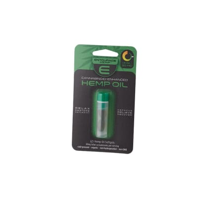 Hemp Oil Soft Gelatin Capsule-HG-HEO-SGELG2Z - 400