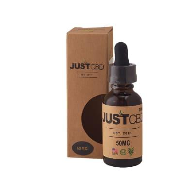 Just CBD Honey Tinctures 50mg - HT-JUS-RH50