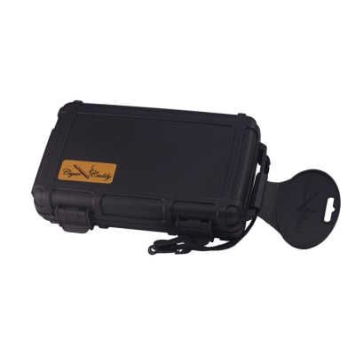 Cigar Caddy 3400-XL Black Big Ring Gauge Travel Case - HU-CCA-5XLBLK