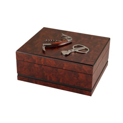 Craftsman's Sonoma Gift Set with Scissors and Wine Tool-HU-CFB-SONOMA - 400