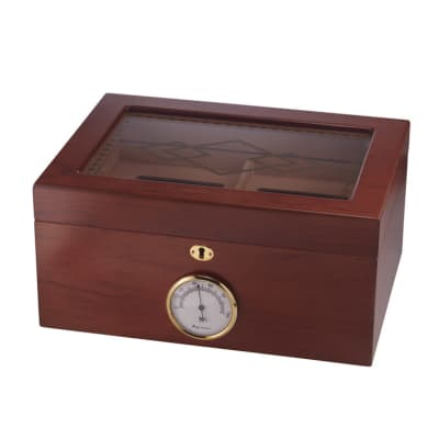 Bally II Glass Top Humidor - HU-ORL-BALLYII