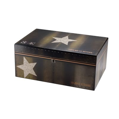 Quality Importers Soldier Strong 100 Count Humidor - HU-QIT-ARMLG