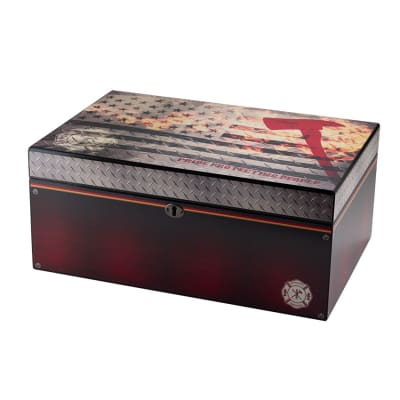 Quality Importers Red Line FD 100 Count Humidor - HU-QIT-FDLG