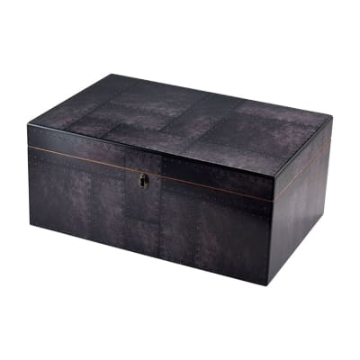 Steel City Humidor Supreme - HU-QIT-STEEL