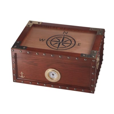 Quality Importers Maiden Voyage 100 Count Humidor - HU-QIT-VOYAGE