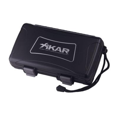 Xikar 5 Count Cigar Humidor Black - HU-XTM-05