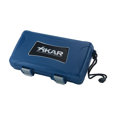 Xikar 5 Count Cigar Humidor Blue-HU-XTM-205BLXI - 400