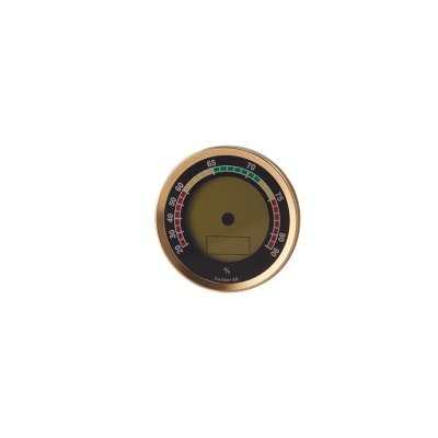 Oasis Caliber 4R Gold Hygrometer - HY-OAS-CAL4RG