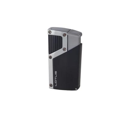 Black Label Czar Lighter Chrome and Black - LG-BKL-CZARBKS