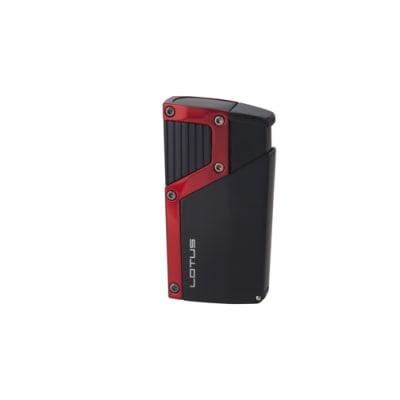 Black Label Czar Lighter Red and Black - LG-BKL-CZARRED