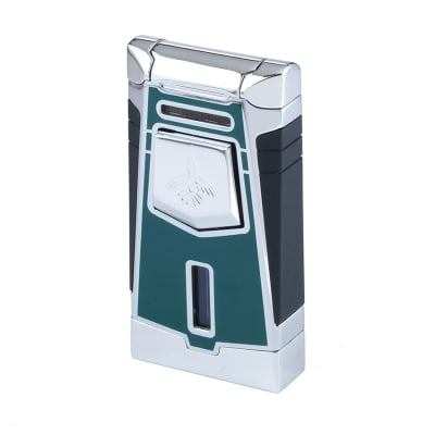 Colibri Empire Green Single Flame Torch Cigar Lighter - LG-COL-EMPGRN
