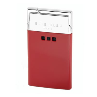 Elie Bleu J-11 Delgado Jet Flame Lighter Red Lacquer-LG-EBS-J11RED - 400