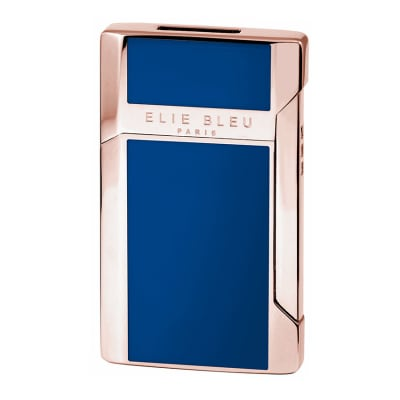 Elie Bleu J-12 Plano Jet Flame Lighter Collection Blue-LG-EBS-J12BLUE - 400