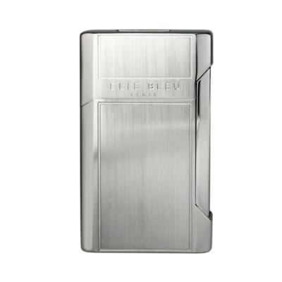 Elie Bleu J-12 Plano Jet Flame Lighter Collection Satin - LG-EBS-J12SATIN