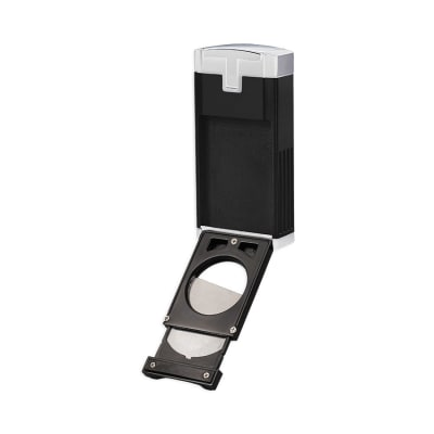 Lotus Duke Cigar Cutter Lighter Chrome-LG-LTS-DCCBCH - 400