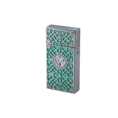 Rocky Patel Burn Collection Double Flame Light Green - LG-RBN-2LGREEN